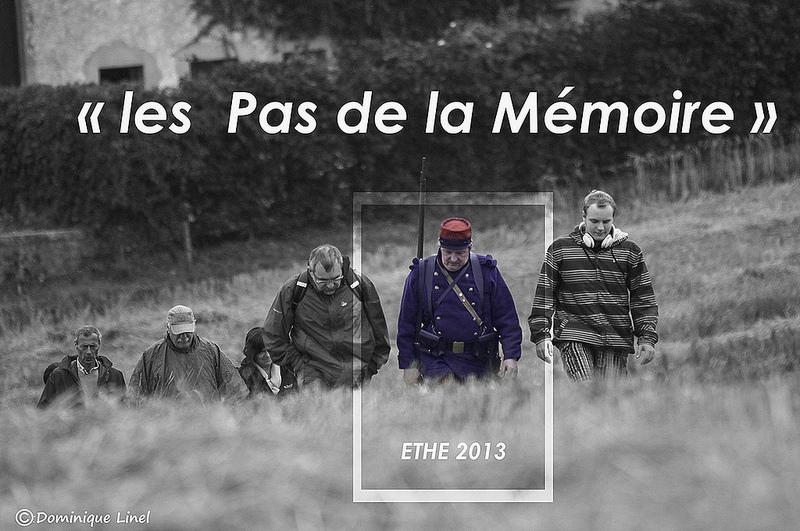 les  Pas de la Mémoire  2013 – Ethe – Virton