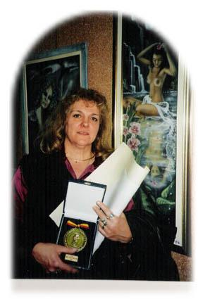 Betty Stiernon Artiste peintre aérographiste à Tintigny