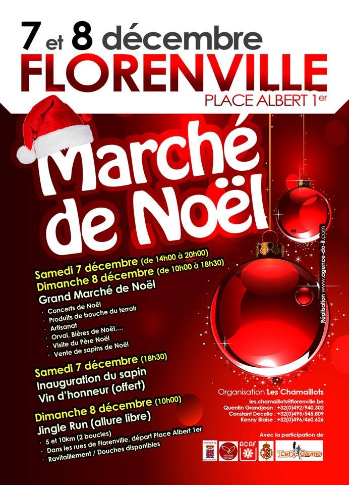 Marché de Noel à Florenville