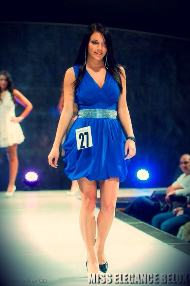 Sara Van Grunderbeeck de Bertrix finaliste à Miss Elegance Belux