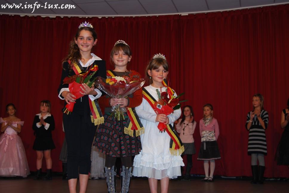 Mini Miss et Mini Mister  en province de Luxembourg