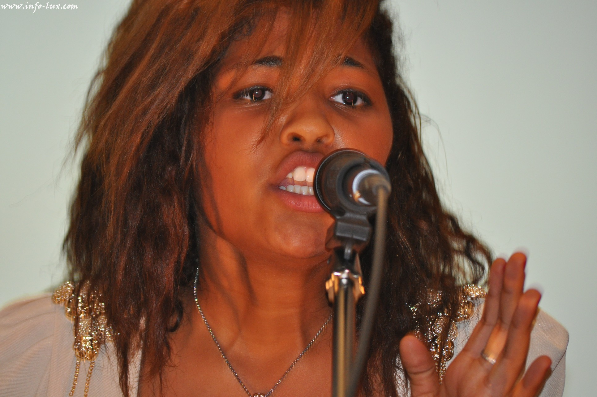Aila Jao de Messancy peut être de the Voice Belgique !!