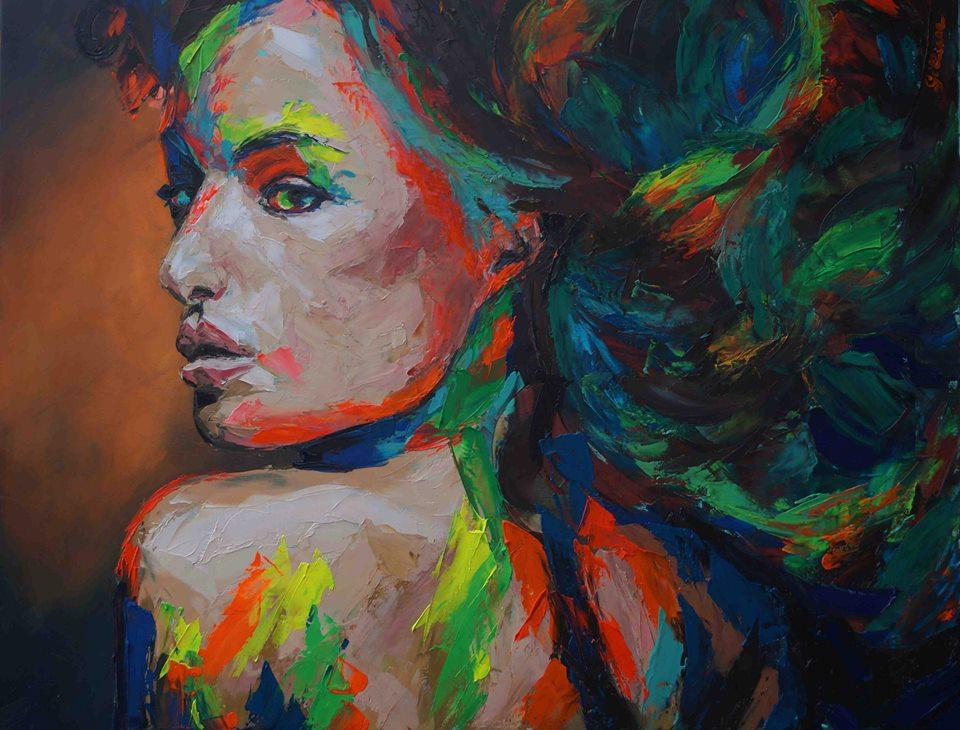 Giliiane Warzée Artiste Peintre