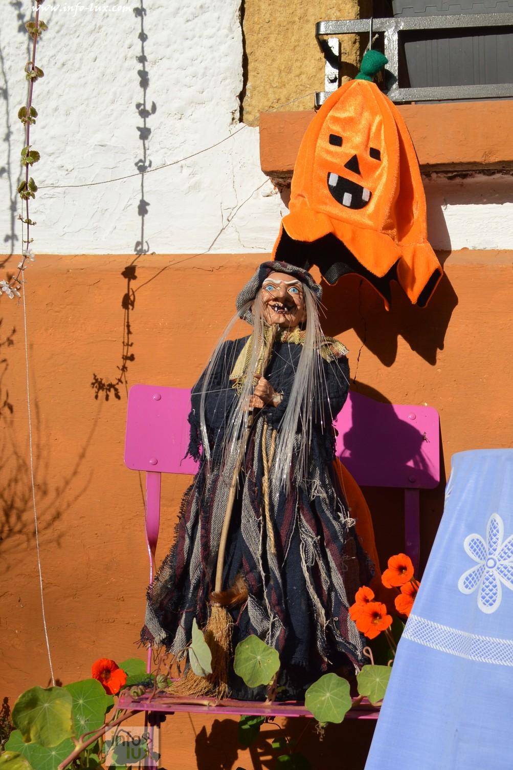 Décoration D'halloween  à Mussy-la-Ville