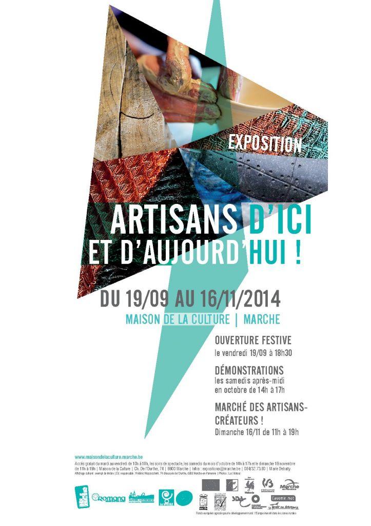 Exposition (artisanat d'art) à Marche-en-Famenne