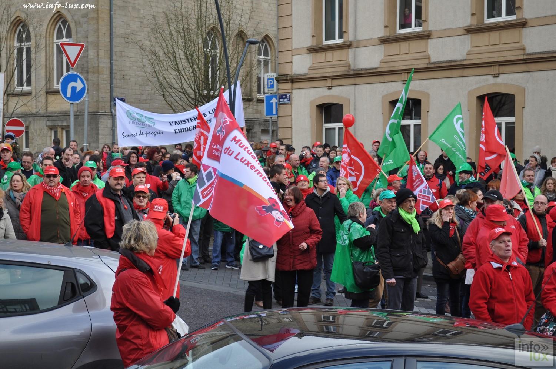 Manifestation du 24 novembre en Province de Luxembourg.
