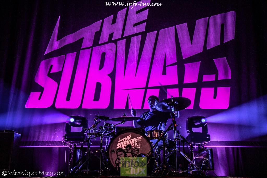The Subways à la ROCKHALL à Luxembourg