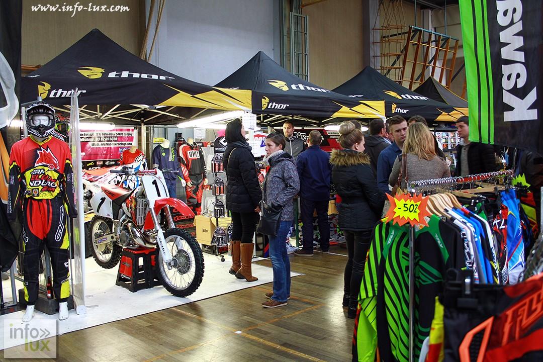 Photos du  Salon  de l'association motocycliste de la province du Luxembourg à  Bastogne