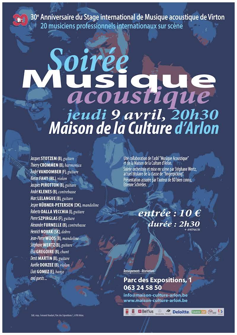 Soirée Musique Acoustique à Arlon