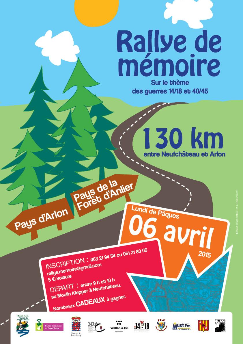 Rallye de  Mémoire