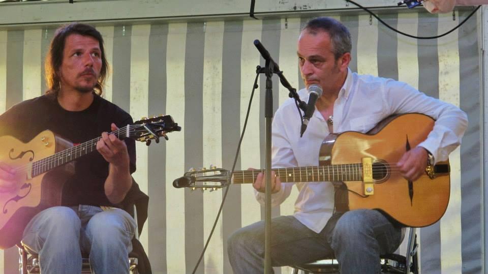 Stage de guitare jazz/manouche à Fratin