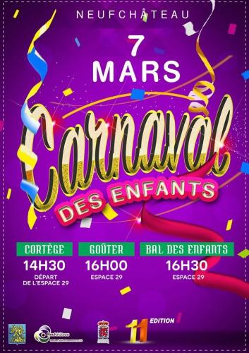 carnaval enfanst Neufchateau