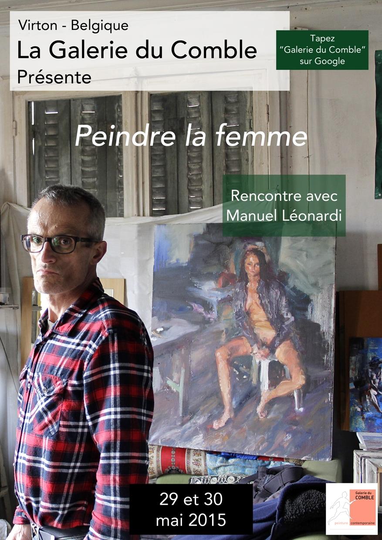 Expositions à Virton ; « Peindre la femme. »    Rencontre avec Manuel Léonardi, peintre parisien.