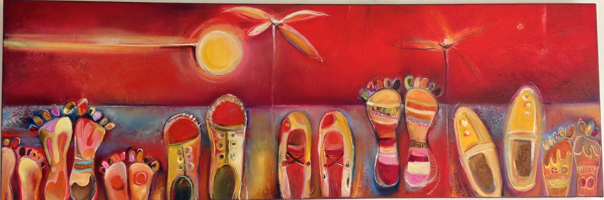 Peinture D'Aurore Dahin