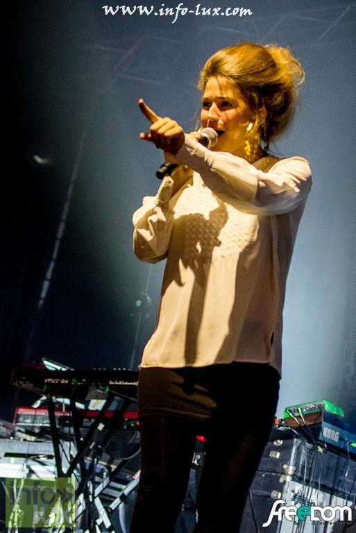 Photos Reportage  de Selah Sue en Concert à Luxembourg ( Rockhal )