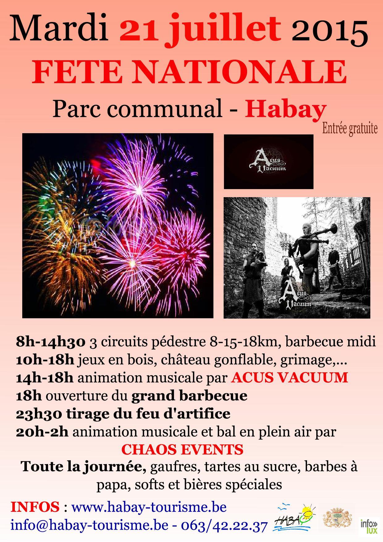 21 juillet Habay