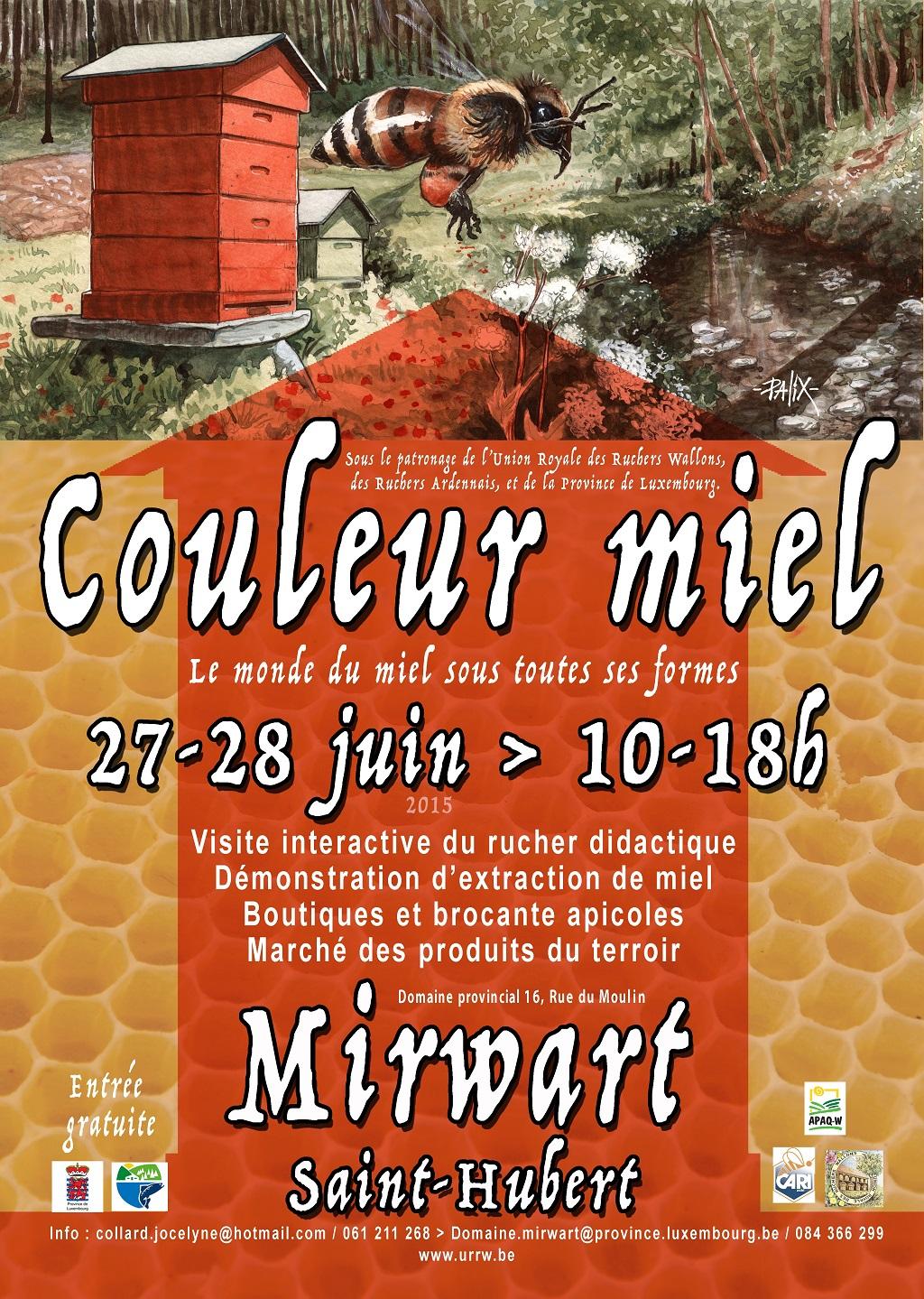 2015 Mirwart Couleur Miel -BV