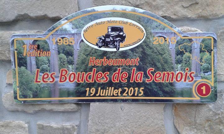 Rallye voitures ancêtres à Herbeumont