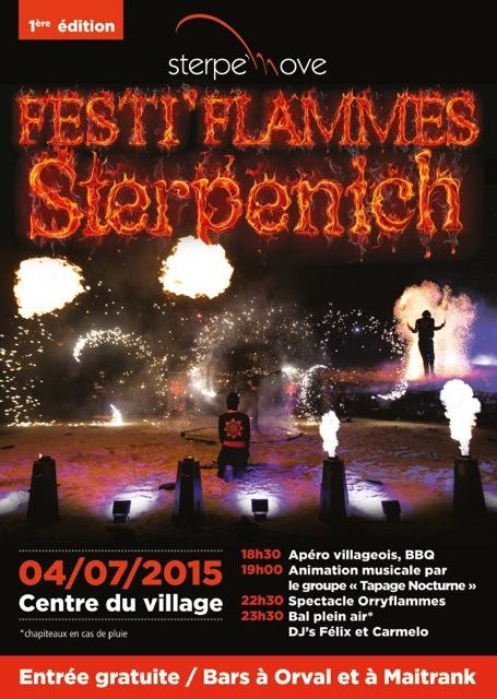 FESTI'FLAMMES à Sterpenich