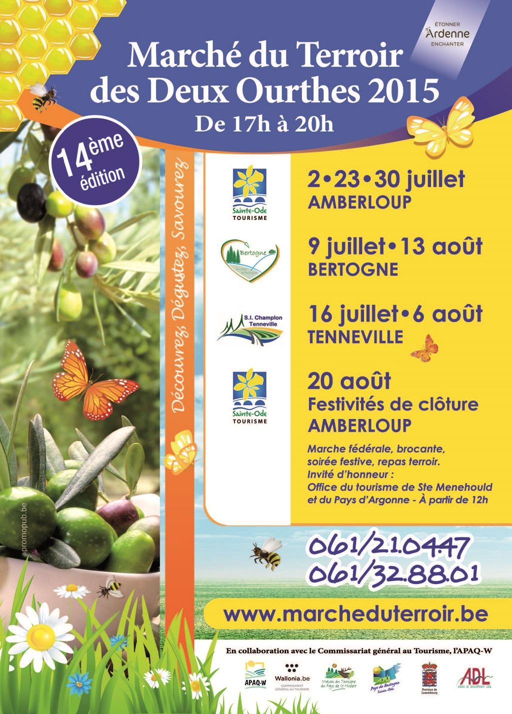 Marché du Terroir – Saint-ode  MAberloup- Bertogne- Tenneville