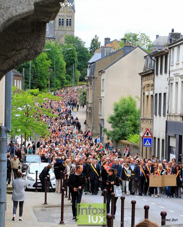 Manifestation pour le maintien de 3 hopitaux – Arlon – Libramont et Marche