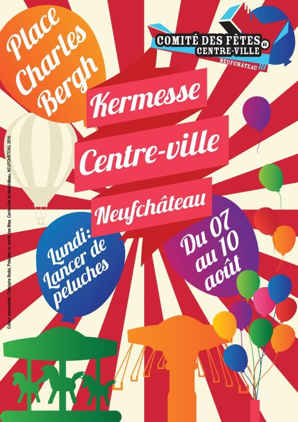Neufchateau : kermesse 2015