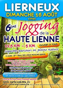 Lierneux : jogging 2015
