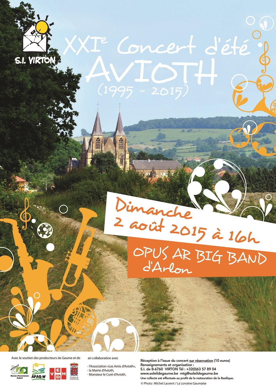 Avioth : concert à la Basilique