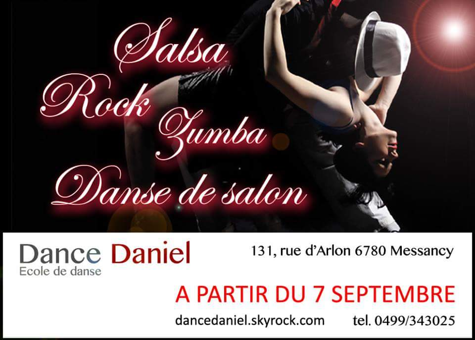 Ecole de danse  DANCE DANIEL située à Messancy