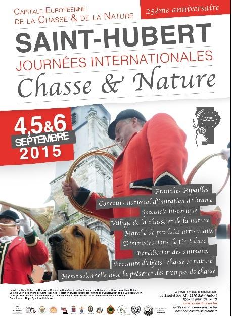 Journées Internationales de la Chasse et de la Nature à Saint-Hubert