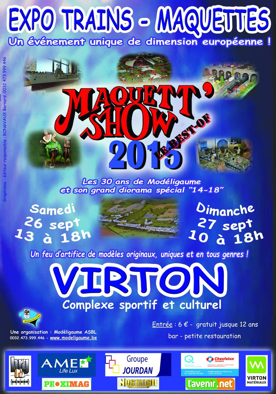 Exposition maquettes à Virton