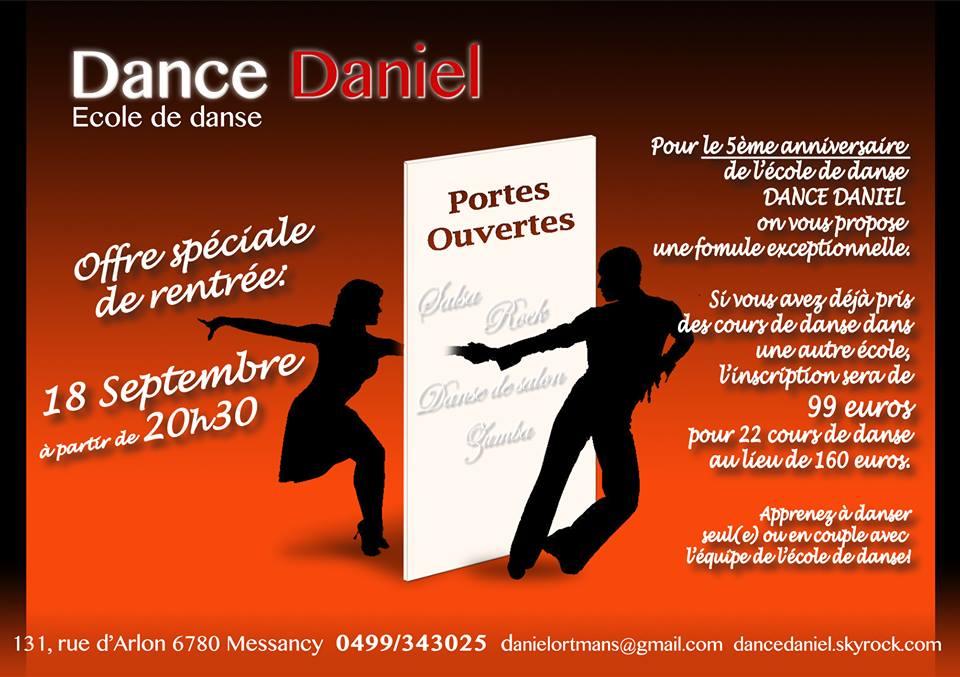 école de danse DANCE DANIEL
