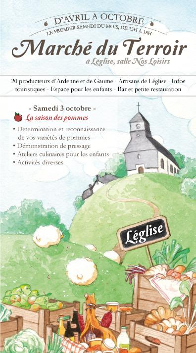 Honneur aux pommes à Léglise