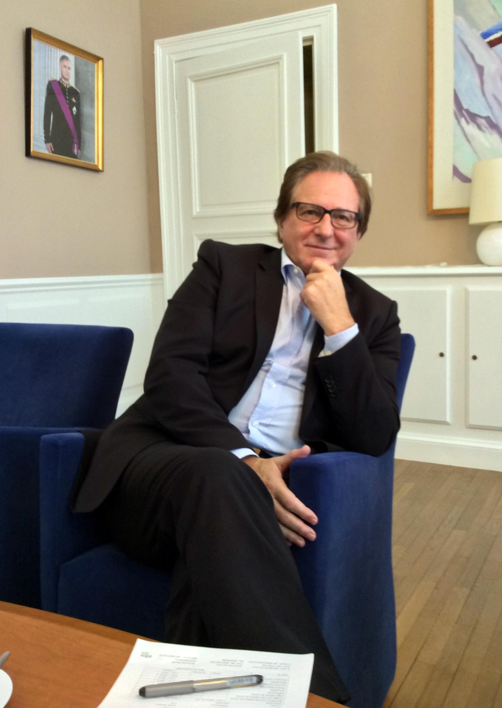 Bernard Caprasse se libère de son premier mandat mi-décembre !