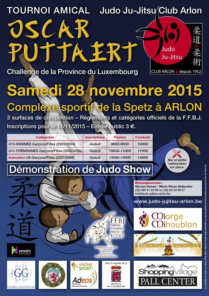 Tournoi Amical de Judo Arlon 2015