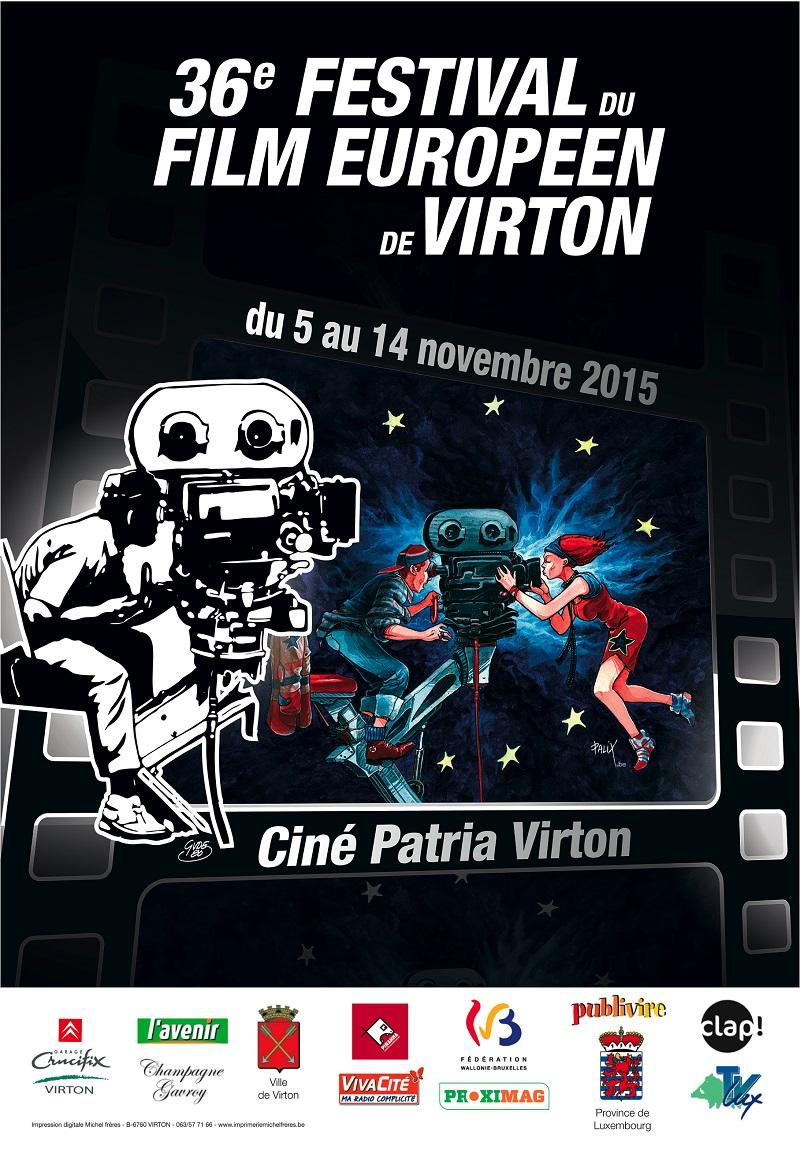 le Festival du Film Européen de Virton   2015.
