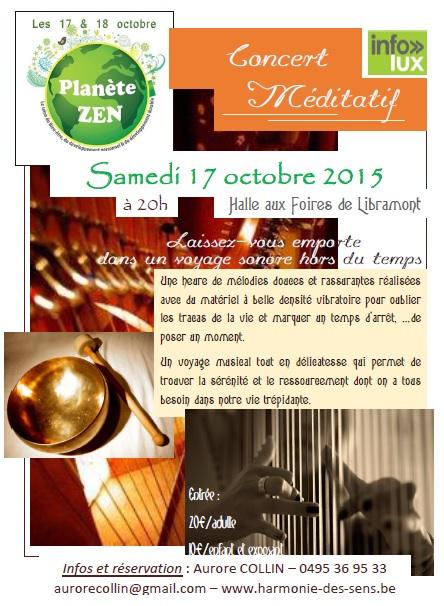 Concert méditatif à Libramont