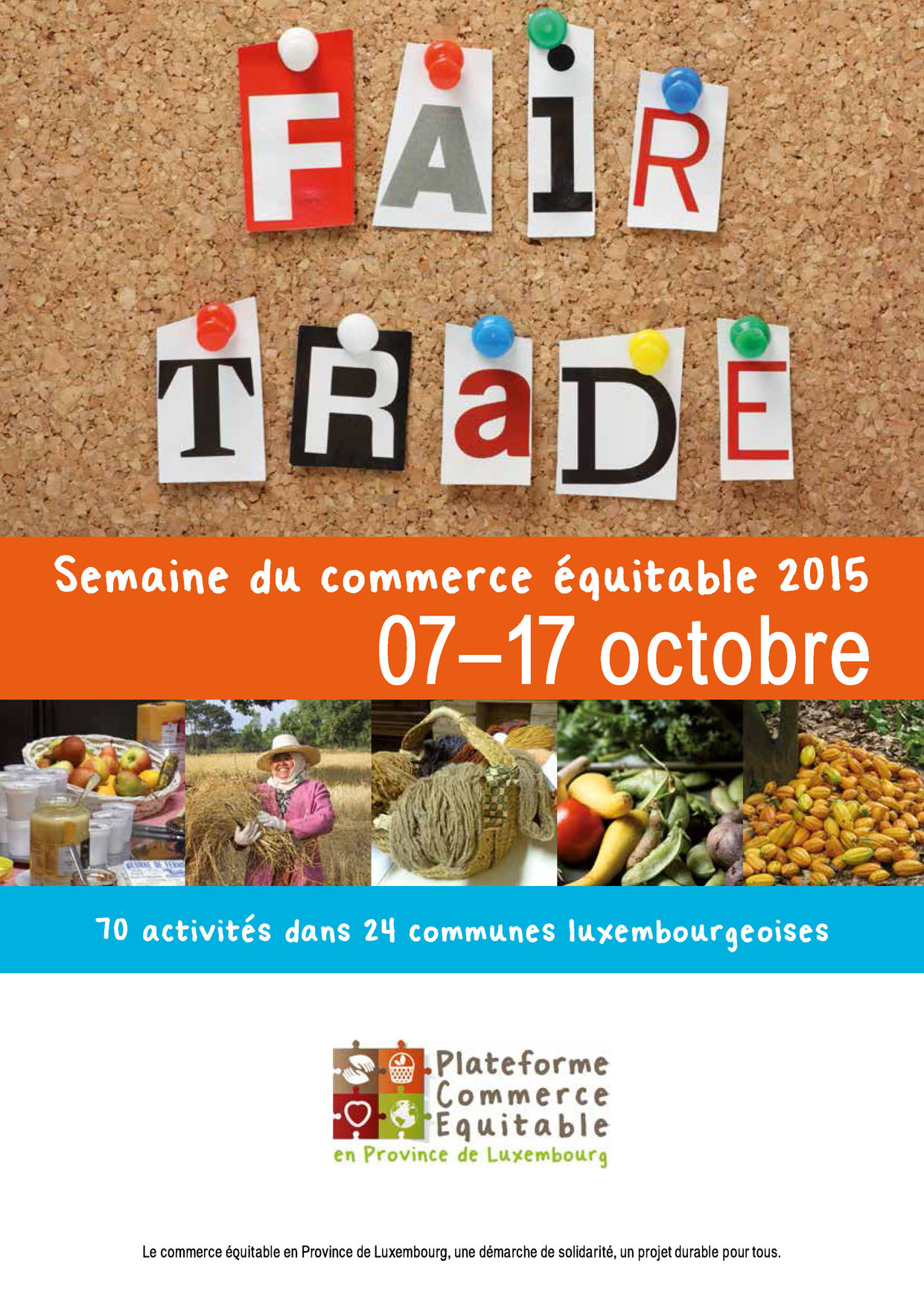 Province du Luxembourg : semaine du commerce équitable