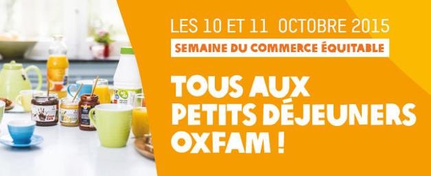 Province : Petits déjeuners  OXFAM