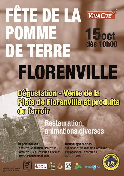 Fête de la pomme-de-terre à Florenville – photos Reportage