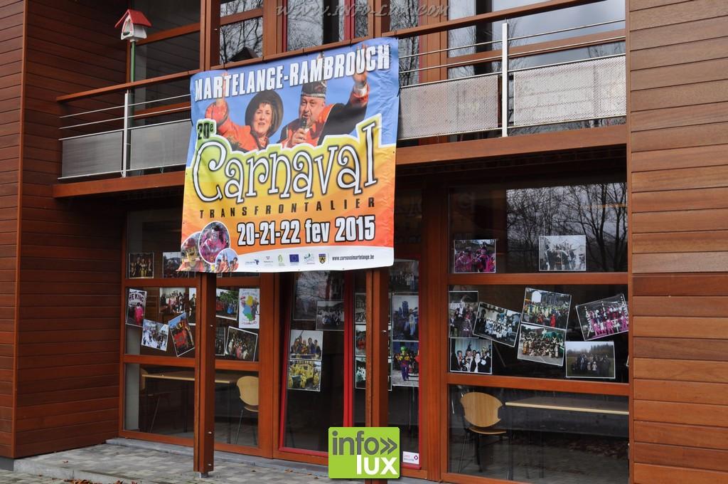 Exposition L'histoire du carnaval de Martelange