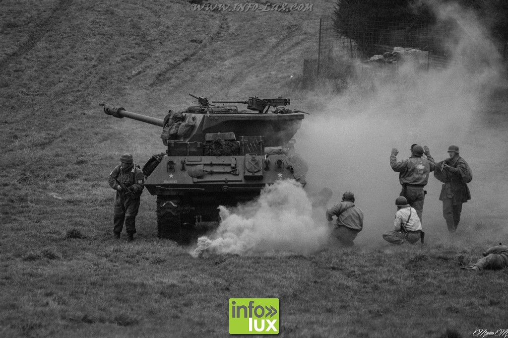 la bataille des Ardennes à Bastogne
