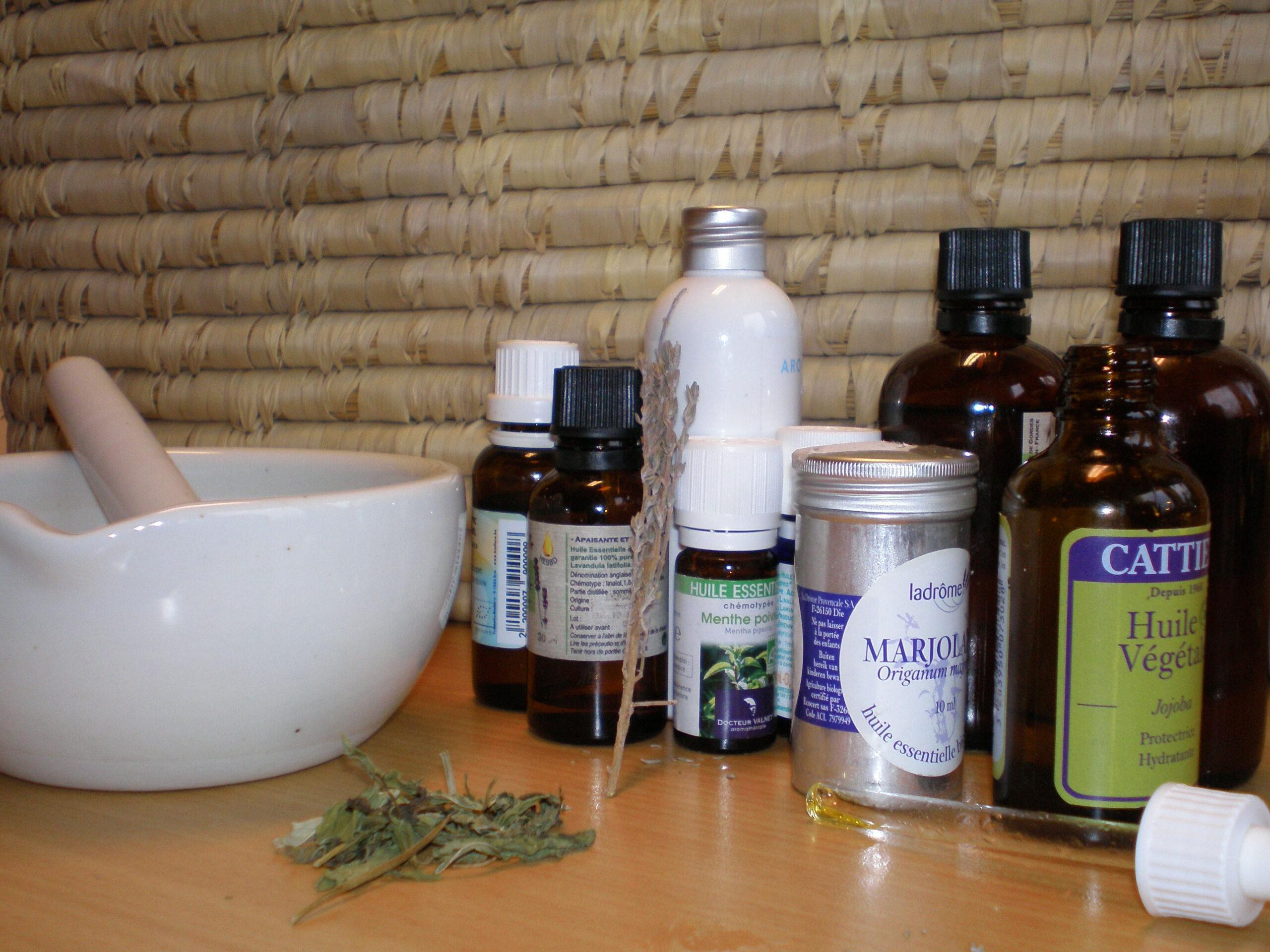 Aromathérapie à Anlier