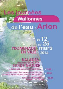 journées wallonnes de l'eau à Arlon
