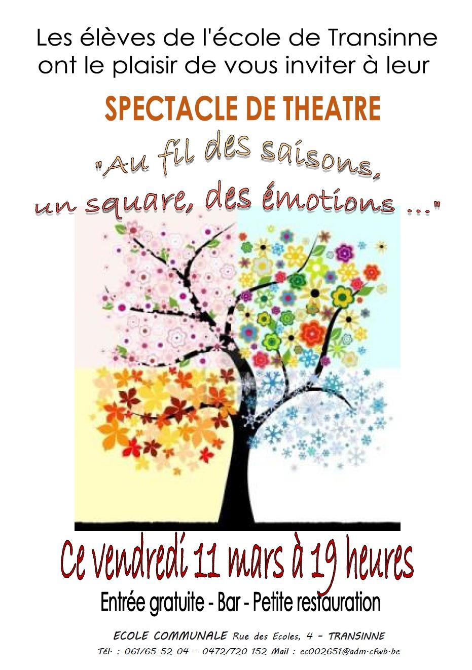 Théâtre à Transinne