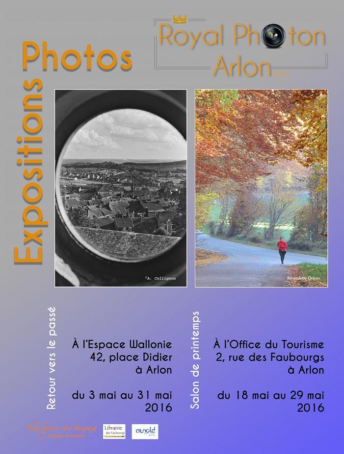 Affiche des 2 expositions