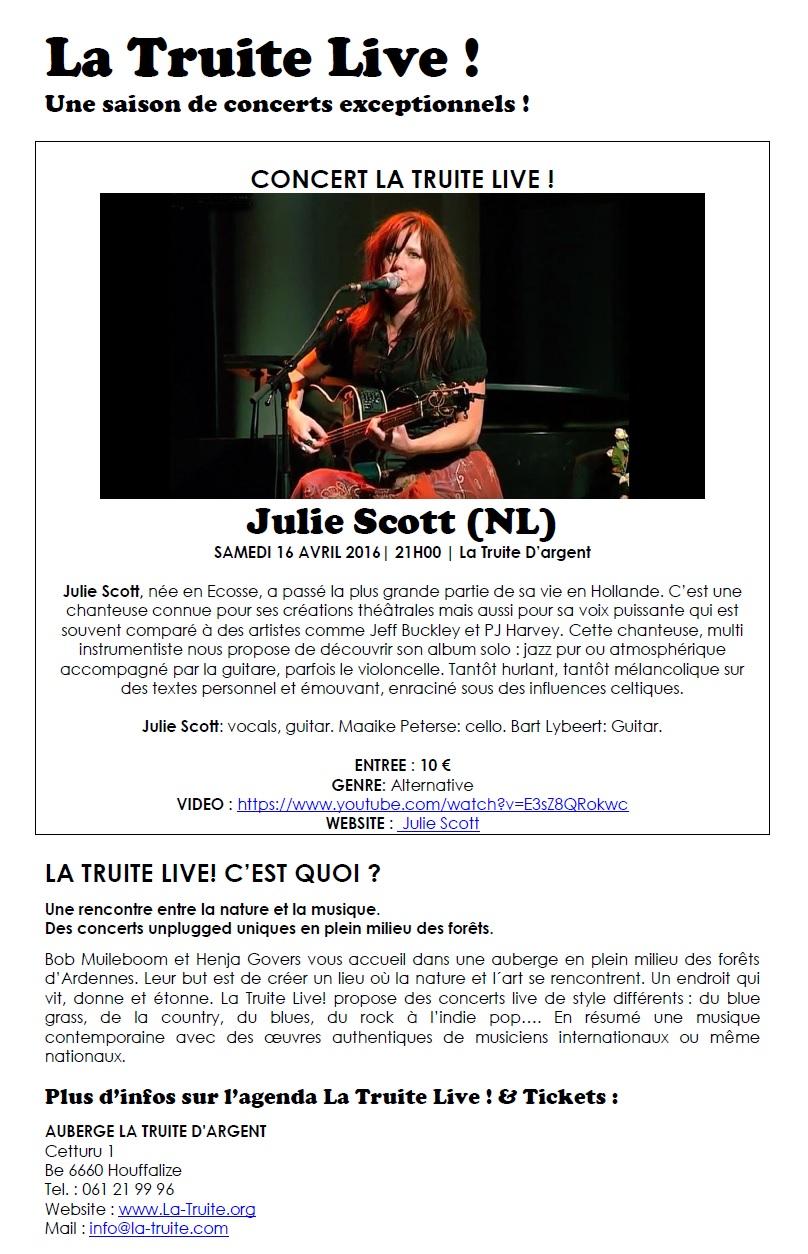 Concert à Houffalize