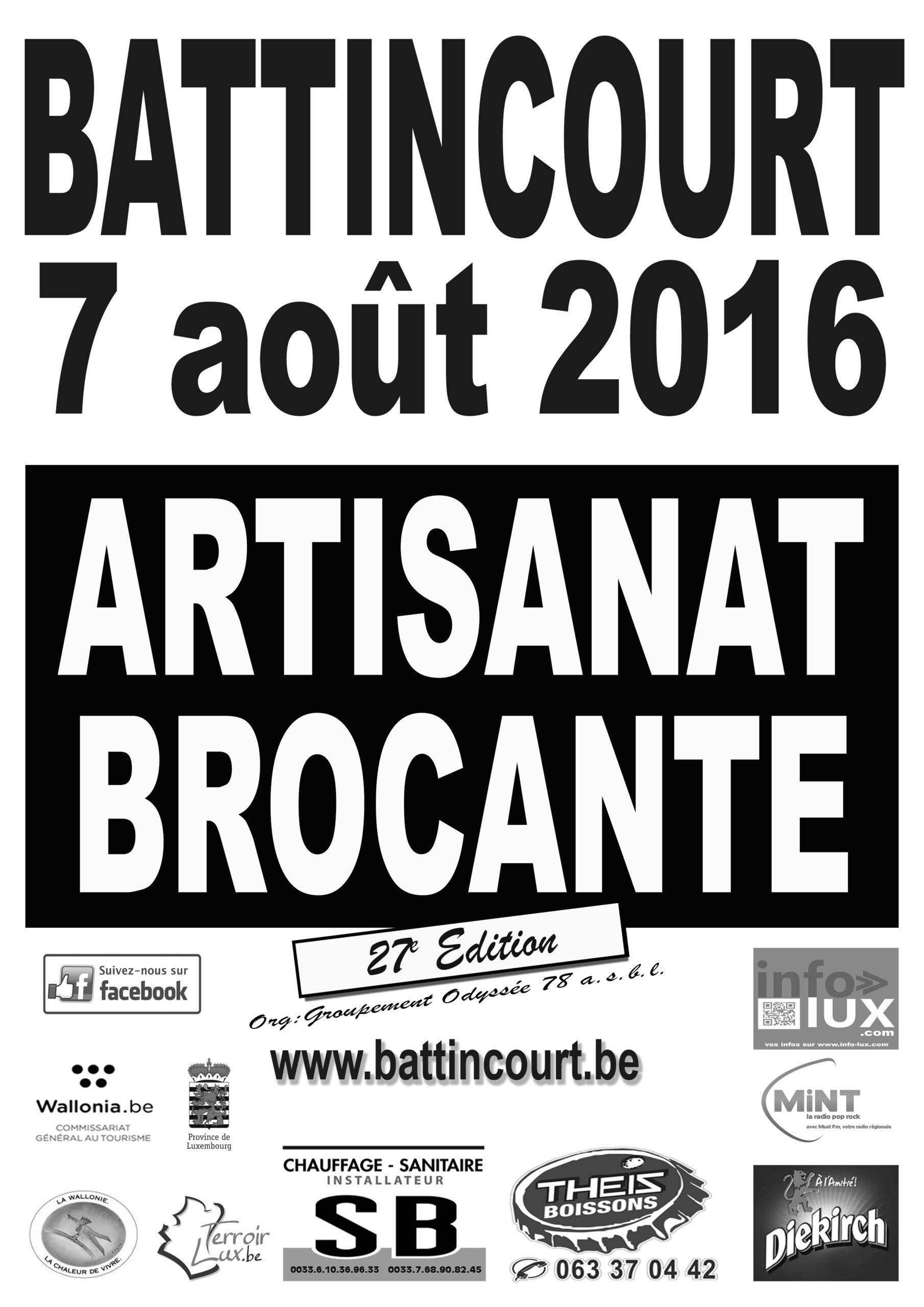 Brocante  à Battincourt