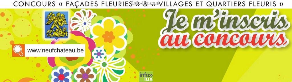 concours « Façades fleuries » à Neuchâteau