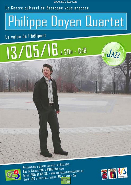Philippe Doyent Quartet Centre culturel de Bastogne